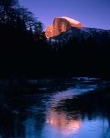 Half Dome, Merced River, Yosemite, California Fine Art Print