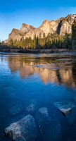 The Merced River in the Yosemite Valley Fine Art Print