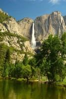 Upper Yosemite Falls, Merced River, Yosemite NP, California Fine Art Print