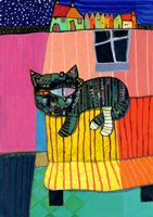 Sofa Cat Fine Art Print