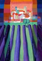 Lavender Fields by Eugen Stross - various sizes