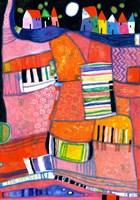 Keyboard Landscape by Eugen Stross - various sizes