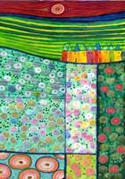 Flower Carpet by Eugen Stross - various sizes, FulcrumGallery.com brand