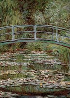 Waterlily Pond, Japanese Bridge by Claude Monet - various sizes
