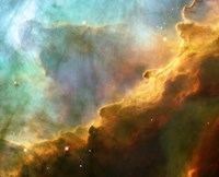 A Perfect Storm of Turbulent Gases in the Omega/Swan Nebula (M17) Fine Art Print