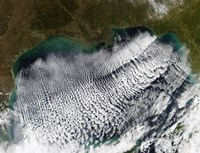 Cloud Streets in the Gulf of Mexico - various sizes