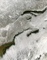 Snow and Cloud Streets, New England and the Maritimes - various sizes