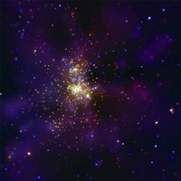 Westerlund 2, a Young Star Cluster - various sizes