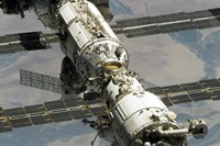 Close Up View of International Space Station - various sizes