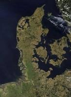 Satellite View of Denmark - various sizes