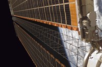 A Solar Array Wing on the International Space Station - various sizes