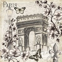 Paris in Bloom II Fine Art Print