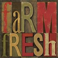 Printers Block Farm To Table IV Fine Art Print