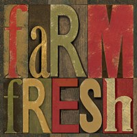 Printers Block Farm To Table IV Fine Art Print