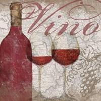 Vino and Vin I Framed Print