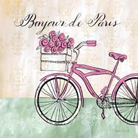 Bonjour de Paris II Fine Art Print