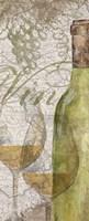 Vino and Vin Panel II Framed Print