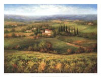 Villa d'Calabria Fine Art Print
