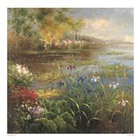 Village Pond Fine Art Print