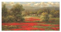 Poppy Village Fine Art Print