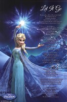 Frozen - Let It Go Wall Poster