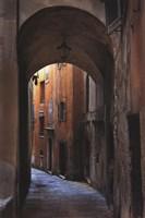 Siena Alley I Fine Art Print