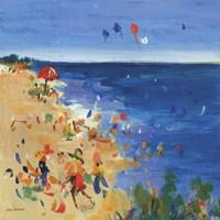 Beach Party I Fine Art Print