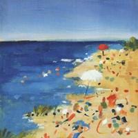 Beach Party II Fine Art Print
