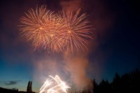 British Columbia, Victoria, Fireworks Show by Stuart Westmorland - various sizes