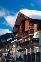 British Columbia, Sun Peaks Resort, ski lodges by Walter Bibikow - various sizes, FulcrumGallery.com brand
