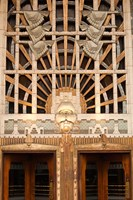 Detail of the Marine Building, Vancouver, British Columbia, Canada Fine Art Print