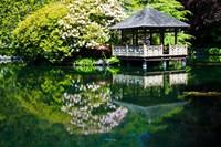 British Columbia, Vancouver, Hately Gardens, Hut Fine Art Print