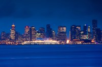 City view form North Vancouver, British Columbia, Canada by Walter Bibikow - various sizes