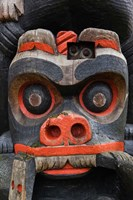First Nation Totem Pole, Thunderbird Park, Victoria, Vancouver, British Columbia, Canada by Walter Bibikow - various sizes
