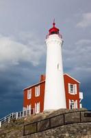 Fisgard Lighthouse, Victoria, Vancouver Island, British Columbia, Canada by Walter Bibikow - various sizes