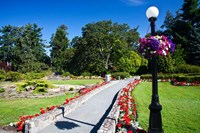 Gardens at Governor's House Victoria, British Columbia, Canada Fine Art Print