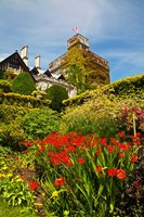 Summer in Hately Gardens, Victoria, British Columbia Fine Art Print