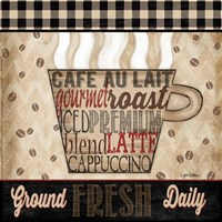 Premium Coffee I Fine Art Print