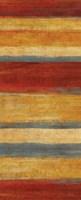 Abstract Stripe Panels II Framed Print