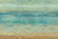 Abstract Waves Blue Fine Art Print