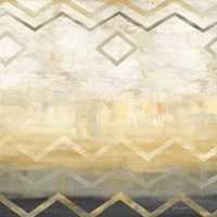 Abstract Waves Black/Gold I by Cynthia Coulter - various sizes - $16.99