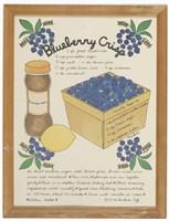 Blueberry Crisp Fine Art Print