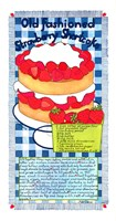 Old Fashioned Strawberry Shortcake Fine Art Print