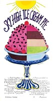 Sky High Ice Cream Pie by Marlene Siff - various sizes