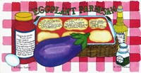Eggplant Parmesan Fine Art Print