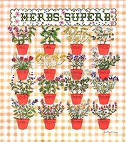 Herbs Superb by Marlene Siff - various sizes