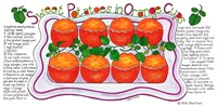 Sweet Potatoes in Orange Cups Fine Art Print