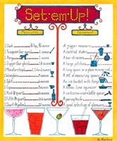 Set Em Up by Marlene Siff - various sizes