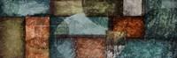 Rectangle Blue Velvet 1 Framed Print