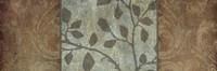 """Rustic Leaves I by Kristin Emery - 18"""" x 6"""""""